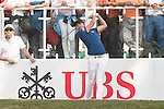 Soomin Lee of Korea tees off the first hole during the 58th UBS Hong Kong Golf Open as part of the European Tour on 11 December 2016, at the Hong Kong Golf Club, Fanling, Hong Kong, China. Photo by Vivek Prakash / Power Sport Images