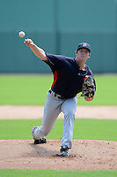 GCL Twins pitcher Jared Wilson (22) during a game against the GCL Red Sox on July 19, 2013 at JetBlue Park at Fenway South in Fort Myers, Florida.  GCL Red Sox defeated the GCL Twins 4-2.  (Mike Janes/Four Seam Images)