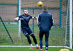 St Johnstone Training….09.08.19<br />Goalkeeper Zander Clark pictured at McDiramid Park this morning ahead of tomorrow's game against Livingston..<br />Picture by Graeme Hart.<br />Copyright Perthshire Picture Agency<br />Tel: 01738 623350  Mobile: 07990 594431