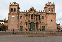 Peru, Cusco.  The Cathedral, 16th. century.