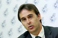 The coach of the national soccer team of Spain, Julen Lopetegui during the signing of the renewal of his contract until 2020. May 22,2018. (ALTERPHOTOS/Acero) /NortePhoto.com
