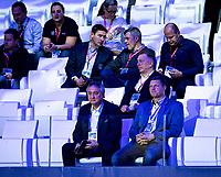 Paolo Barelli LEN President<br />  <br /> Budapest 12/01/2020 Duna Arena <br /> GER - Germany (white caps) Vs. ITA - Italy (blue caps)<br /> XXXIV LEN European Water Polo Championships 2020<br /> Photo  ©Pasquale Mesiano / Deepbluemedia / Insidefoto