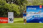 Punpaka Phuntumabamrung of Thailand tees off during the first round of the EFG Hong Kong Ladies Open at the Hong Kong Golf Club Old Course on May 11, 2018 in Hong Kong. Photo by Marcio Rodrigo Machado / Power Sport Images
