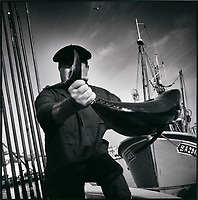 Europe/France/Aquitaine/64/Pyrénées-Atlantiques/Pays Basque/Saint-Jean-de-Luz: Retour de pêche au thon à la canne