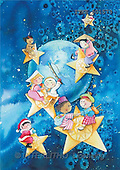 Isabella, CHRISTMAS CHILDREN, naive, paintings, globe, children(ITKE501573,#XK#) Weihnachten, Navidad, illustrations, pinturas