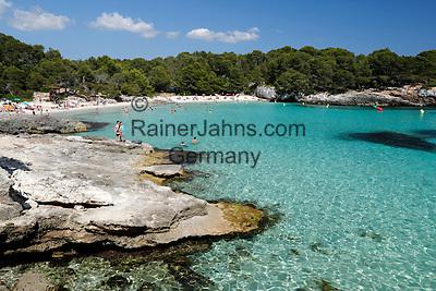 Spain, Menorca, near Ciutadella: Cala en Turqueta, South West Coast   Spanien, Menorca, bei Ciutadella: Cala en Turqueta an der Suedwest-Kueste