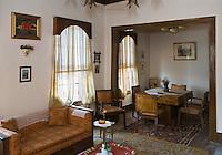 Europe/Turquie/Istanbul :  Yali résidence d'été en bois sur le Bosphore  de Salih Efendi, mèdecin du Sultan Mahmutt II - un salon