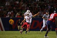20 October 2007: Stanford Cardinal Derek Belch during Stanford's 21-20 win against the Arizona Wildcats at Arizona Stadium in Tucson, AZ.