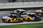 #95: Christopher Bell, Leavine Family Racing, Toyota Camry Procore and #14: Clint Bowyer, Stewart-Haas Racing, Ford Mustang Rush / Mobil 1