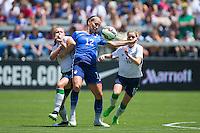 San Jose, California - May 10, 2015: The USWNT defeated Ireland 3-0 during an international friendly game at Avaya Stadium.
