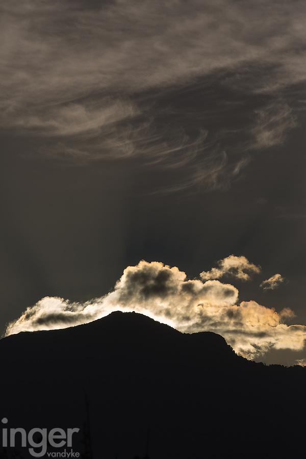 Sunrise at Pico Bonito, northern Honduras