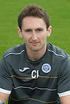 St Johnstone FC 2014-2015 Season Photocall..15.08.14<br /> Colin Leavy (Sports Scientist)<br /> Picture by Graeme Hart.<br /> Copyright Perthshire Picture Agency<br /> Tel: 01738 623350  Mobile: 07990 594431
