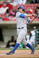June 6, 2009: Rebel Ridling (13) of the Peoria Chiefs at Elfstrom Stadium in Geneva, IL..  Photo by: Chris Proctor/Four Seam Images