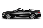 Car Driver side profile view of a 2019 Mercedes Benz S-Class S-560 2 Door Convertible Side View