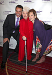 Brian Stokes Mitchell, Charlotte Rae & Amy Stiller<br /> attending the Actors Fund Gala honoring Harry Belafonte, Jerry Stiller, Anne Meara & David Steiner at the Mariott Marquis Hotel in New York City on 5/21/12