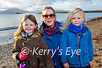 Léan, Sonny and Kate Walsh enjoying a stroll on Fenit beach on New Years Day.