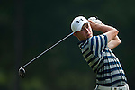 Matthew Fitzpatrick of England hits the ball during Hong Kong Open golf tournament at the Fanling golf course on 24 October 2015 in Hong Kong, China. Photo by Xaume Olleros / Power Sport Images
