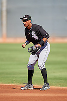 Chicago White Sox Luis Curbelo (21) during an Instructional League game against the Cincinnati Reds on October 11, 2016 at the Cincinnati Reds Player Development Complex in Goodyear, Arizona.  (Mike Janes/Four Seam Images)