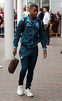 Southampton, ENGLAND - AUGUST 12:Luciano Narsingh of Swansea City arrives prior to the game during the Premier League match between Southampton and Swansea City at the St Mary's Stadium, Southampton, England, UK. Saturday 12 August 2017