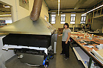 Laura printing department Santini Factory, Lallio, Italy. 30th September 2015.<br /> Picture: Eoin Clarke | Newsfile