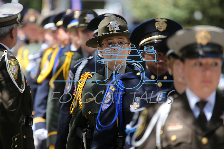 Images from the Nevada Law Enforcement Officers Memorial Ceremony on Thursday, May 2, 2013, at the Capitol in Carson City, Nev.<br />