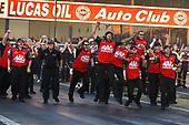 Doug Kalitta, Mac Tools, Top Fuel Dragster, winner, celebration, trophy