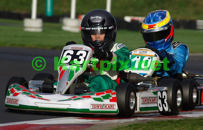 2005, PF International Kart Circuit, Brandon, Lincolnshire, England, a young George Russell early karting career.