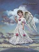 CHILDREN, KINDER, NIÑOS, paintings+++++,USLGSKPROV9,#K#, EVERYDAY ,Sandra Kock, victorian ,angels
