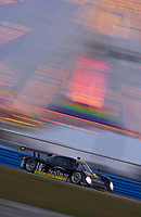 Rolex 24 at Daytona, Daytona International Speedway 5/6 Feb, 2005.The SunTrust Pontiac/Riley speeds through the infield..Copyright©F.Peirce Williams 2005