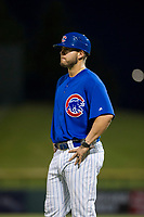 AZL Cubs coach Ben Carhart during the game against the AZL Diamondbacks on August 11, 2017 at Sloan Park in Mesa, Arizona. AZL Cubs defeated the AZL Diamondbacks 7-3. (Zachary Lucy/Four Seam Images)