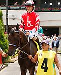 June 26,, 2021: #4 Envoutante and jockey Brian Hernandez Jr. in the Fluer De Lis  at Churchill Downs.  Louisville, KY on June 26, 2021.  Candice Chavez/ESW/CSM