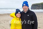 Enjoying a stroll in Ballybunion on Saturday, l to r: Annette O'Donnell and Kieran O'Donovan.