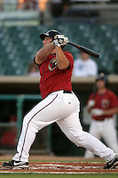 Brian Pelligrini of the Lancaster JetHawks during game against the Lake Elsinore Storm at Clear Channel Stadium in Lancaster,California on September 1, 2010. Photo by Larry Goren/Four Seam Images