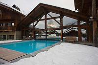 Europe/France/Rhone-Alpes/74/Haute-Savoie/ Chamonix: La Maison Carrier-Hôtel La Ferme