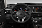 Car pictures of steering wheel view of a 2020 KIA Optima LX 4 Door Sedan Steering Wheel