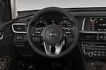 Car pictures of steering wheel view of a 2020 KIA Optima LX 4 Door Sedan Steering Wheel
