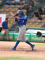 Miguel Droz participates in the MLB International Showcase at Estadio Quisqeya on February 22-23, 2017 in Santo Domingo, Dominican Republic.