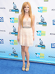 Bella Thorne attends The 2012 Do Something Awards at the Barker Hangar in Santa Monica, California on August 19,2012                                                                               © 2012 DVS / Hollywood Press Agency