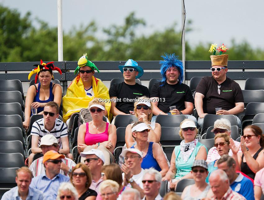 17-06-13, Netherlands, Rosmalen,  Autotron, Tennis, Topshelf Open 2013, ,  Supporters<br /> Photo: Henk Koster