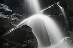 Waterfall, South Fork Tuolumne River, Yosemite-Tioga Pass Highway