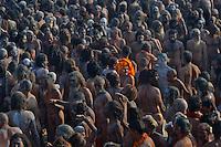 The Kumbh Mela, India.