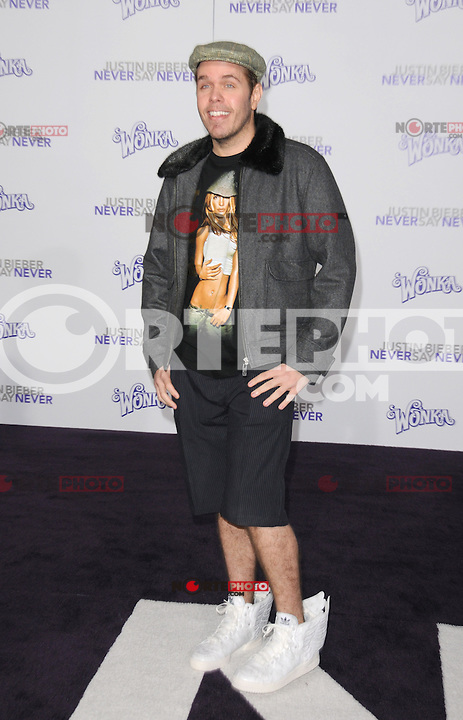 "Perez Hilton at the Los Angeles premiere of ""Justin Bieber: Never Say Never""  at Nokia Theater at L.A. Live in Los Angeles, CA, USA.February 8, 2011 © mpi11 / MediaPunch Inc. / NortePhoto.com.<br /> <br /> <br /> **CREDITO*OBLIGATORIO** *No*Venta*A*Terceros*<br /> *No*Sale*So*third* ***No*Se*Permite*Hacer Archivo***No*Sale*So*third*©Imagenes*con derechos*de*autor©todos*reservados*."