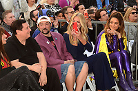 LOS ANGELES - JAN 9:  Burt Ward, Kevin Smith, Nancy O'Dell, Maria Menounos at the Burt Ward Star Ceremony on the Hollywood Walk of Fame on JANUARY 9, 2020 in Los Angeles, CA