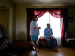 Merna Dallyn, 52, and Doug Dallyn, 55, in their home near Peace River, Alberta on July 15, 2010. Residents in the area have been complaining of strong odours in the air which they say are affecting the health of their animals and family members..Jimmy Jeong / www.jimmyshoots.com