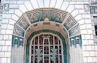 Vancouver: Marine Building--Entrance Detail.  Photo '86.