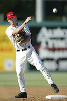 July 27, 2002: Khalil Greene of the Lake Elsinore Storm in action at The Diamond in Lake Elsinore,CA.  Photo by Larry Goren/Four Seam Images