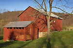 Stopper barn and corncrib, Nippenose Valley, Lycoming County, Pennsylvania