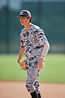 Cameron Clonch during the WWBA World Championship at the Roger Dean Complex on October 20, 2018 in Jupiter, Florida.  Cameron Clonch is a first baseman from Mooresville, North Carolina who attends Mooresville High School and is committed to East Carolina.  (Mike Janes/Four Seam Images)