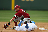 April 3 2010: Jake Schlander of the Stanford Cardinal during game against the UCLA Bruins at UCLA in Los Angeles,CA.  Photo by Larry Goren/Four Seam Images