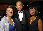 From left: Bernice and Steven Mays with Pat Davis at the Houston Area's Urban League Equal Opportunity Day Gala at the Hilton Americas Houston Saturday night June 20, 2009.(Dave Rossman/For the Chronicle)